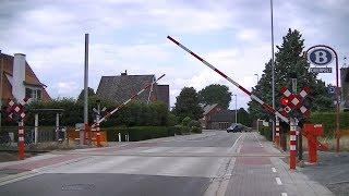 Spoorwegovergang Overpelt (B) // Railroad crossing // Passage à niveau