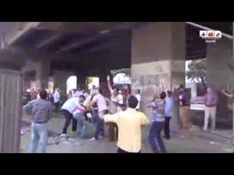 Egypt As It Happens  Army Kills Protestors, People Dramatically Run From Snipers