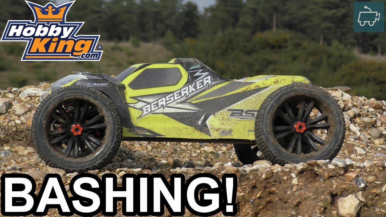 HobbyKing BSR Berserker 1/8 RC Truggy - Tyre SHREDDING ...