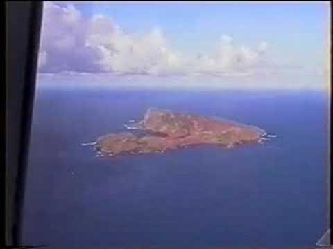 NORFOLK ISLAND FLYOVER