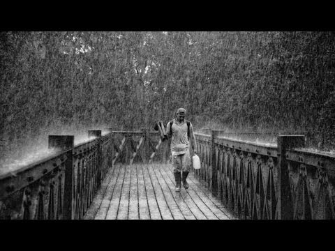 Rain 10 hours of Rain Storm on tin roof , Relaxing Sleep Sounds [ Sleep Music ]