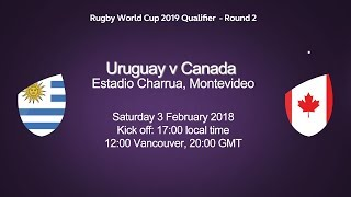 Rugby World Cup Qualifier Uruguay v Canada