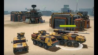 ARMOR CLASH 3  - Official Gameplay Walkthrough  - New RTS War Game 2019