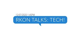 RKON Talks: Tech | RKON