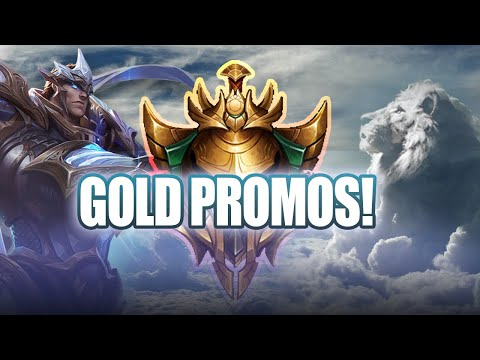 GOLD PROMOS ALREADY? (League of Legends Garen Top Lane)
