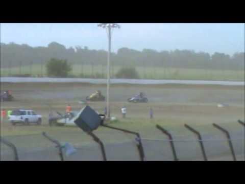 Matt Humphrey- Heat Race at Clay County Speedway 7-5-14