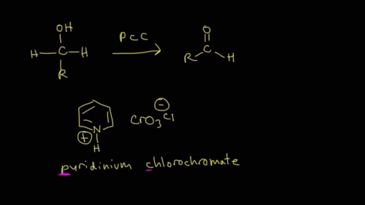 Oxidation of alcohols (examples)