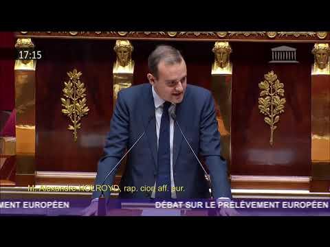 Intervention en séance sur la contribution de la France au budget européen - 22/10/2018