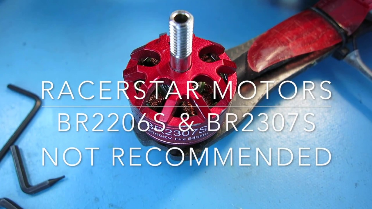 Racerstar BR2307 & BR2306 Motor Teardown and Bearing Replacement ...
