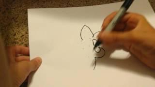 How to draw a Fleur de Lis