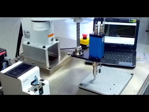 Robotic Screwdriving System - YouTube