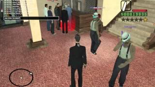 Жирный Задрот играет в GTA:SAMP ADVANCE RP RED - Пизда отелю