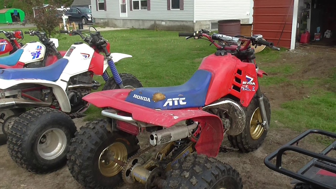 2018 Honda ATC 3 Wheeler and other shit Collection!