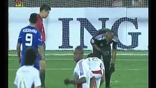 ACL 2011 - 2012 - F.C Esteghlal Iran 1 - 2 Al Jazirra Emirates - Ali Khaseif Trick FOr Lose Time.FLV