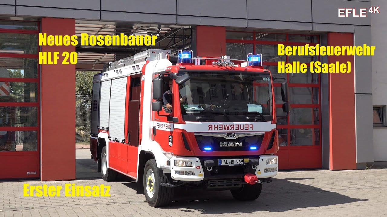 Neues HLF 20 BF Halle (Saale) FW Süd zum ersten Einsatz