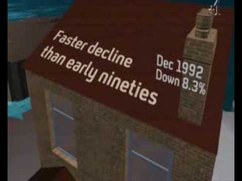 Channel 4 Four News July 2008 - Housing Price slump