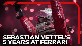 Sebastian Vettel's Ferrari Career: 2015-2020