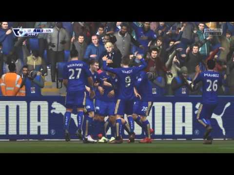 FIFA 16|Freekick goal #2|Marc Albrighton