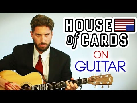 House of Cards Theme Song on Guitar