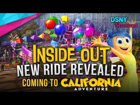 New INSIDE OUT Ride Revealed For Pixar Pier at Disney California Adventure - Disney News - 6/22/18