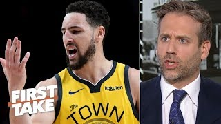I wouldn't have given Klay Thompson a max contract - Max Kellerman | First Take
