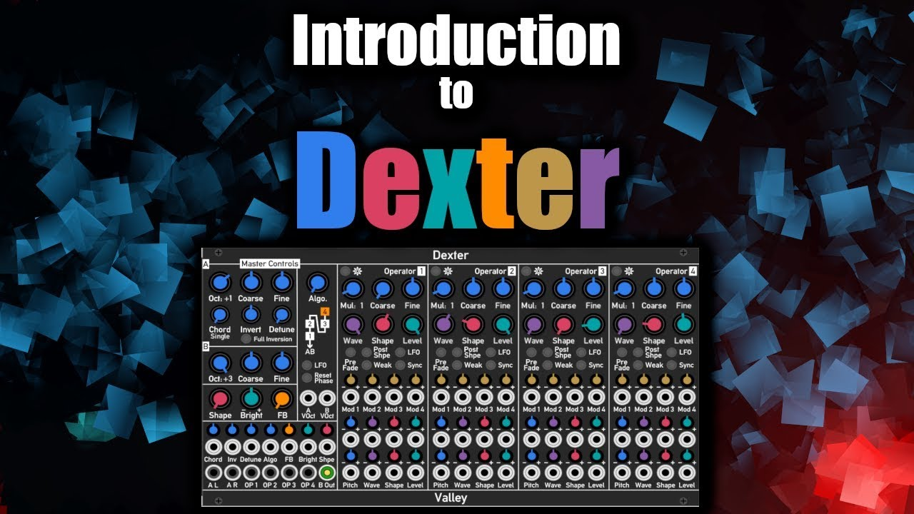 A video introduction to Dexter (FM plugin) | Switched On Rack