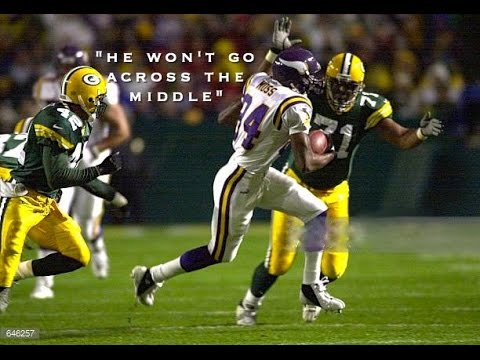 """The Randy Moss Myth Busting Career Defining Video Pt 5   """"He won't go over the middle."""""""