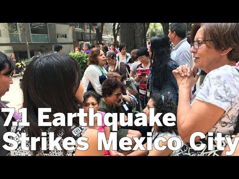 7.1 Earthquake Strikes Mexico City | San Diego Union-Tribune