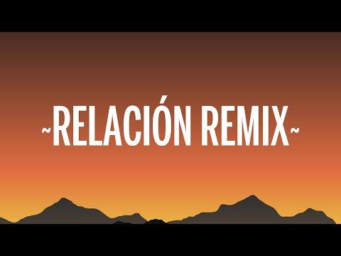 Sech – Relación Remix (Letra/Lyrics) ft. Daddy Yankee, J Balvin, Rosalía, Farruko