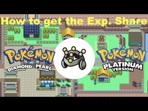 How To Get The Exp. Share In Pokemon Diamond & Pearl And Platinum (2020)