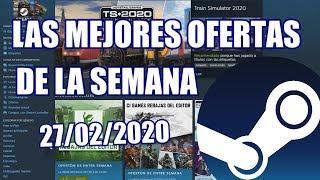 Recomendaciones en las OFERTAS de la semana en STEAM - 27/02/2020 - juegos rebajados