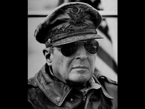 General Douglas MacArthur Memorial at Soldiers Walk Memorial Park in Arcadia Wisconsin