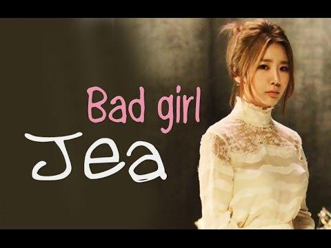 Jea (BEG) ft Jung up - Bad girl [Sub. Esp + Han + Rom]