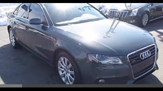 2010 Audi A4 2.0T Quattro Walkaround, Start up, Tour and Overview