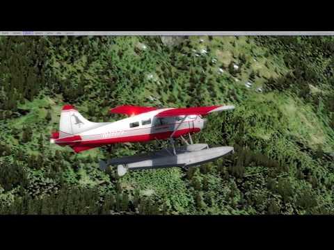 Bush Flying in British Columbia - MilViz DHC-2 Beaver