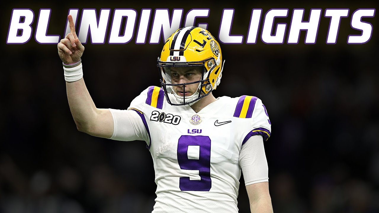 "Joe Burrow Heisman Highlights | ""Blinding Lights"" ᴴᴰ"