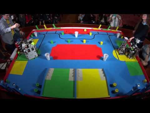 Eurobot 2015 - España - Eurobotics Engineering vs UXSC1 - Ronda 2