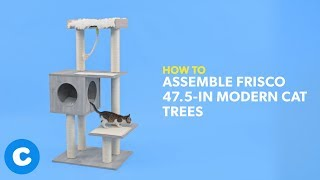 How to Build Frisco 47.5-Inch Modern Cat Trees | Chewy