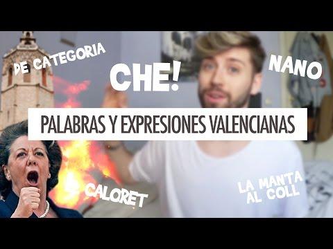 PALABRAS Y EXPRESIONES VALENCIANAS | Uy Albert!