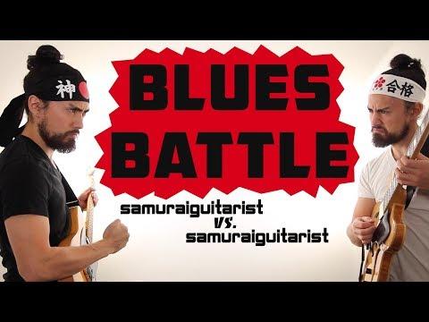 Blues Battle - samuraiguitarist vs samuraiguitarist