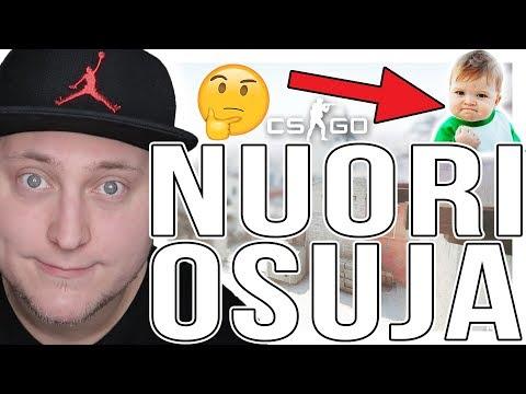 NUORI OSUJA! - CS:GO Suomi Pelailua (Counter Strike: Global Offensive Competitive) thumbnail