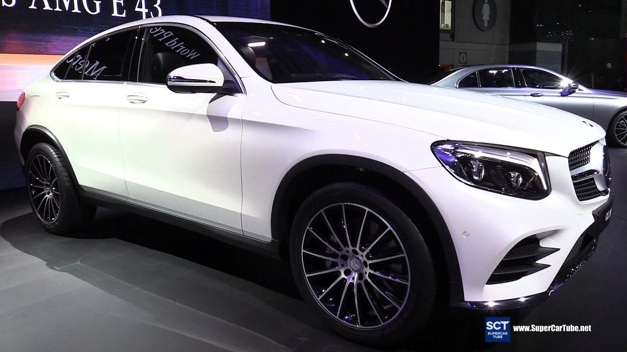 2017 Mercedes Benz Glc Cl Coupe Exterior Interior Walkaround Debut At 2016 New York Auto Show You