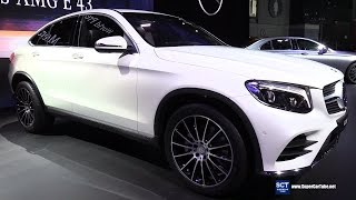 2017 Mercedes Benz GLC Class Coupe -Exterior, Interior Walkaround - Debut at 2016 New York Auto Show