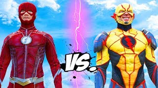 THE FLASH VS REVERSE FLASH - EPIC BATTLE