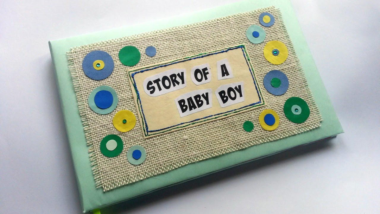 Homemade Baby Books Craft