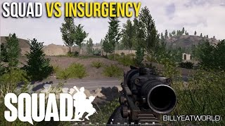 SQUAD vs Insurgency Comparison Review - How Does It Stack Up?