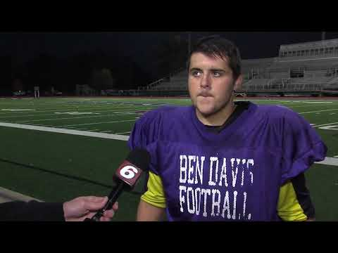 Tommy Macdonald: Football player and 5.1 GPA at Ben Davis High School