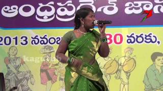Telugu  Palle Patalu Village Folk dance performance
