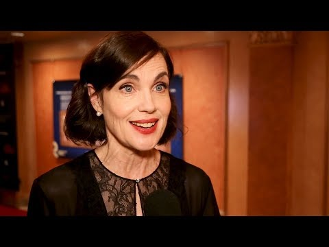 Checking in with Elizabeth McGovern and the stars of TIME AND THE CONWAYS on  Night