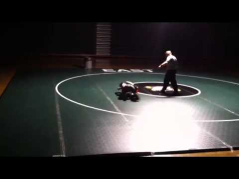 Ethan Rogers Wrestling Match at East Henderson High School